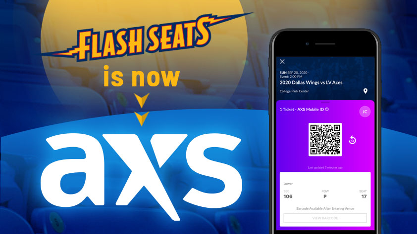 Flash Seats is Moving to A X S
