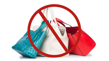 Purse/Bag Policy and Prohibited Items