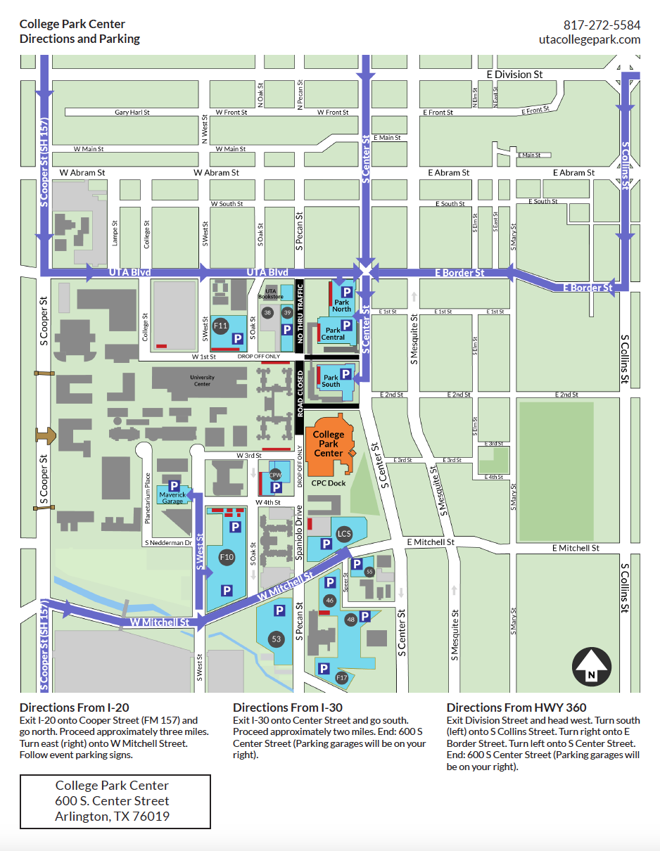 High School Parking Map